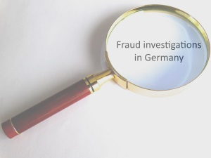 Counter Fraud Investigators in Germany can identify the threats to your organisation.